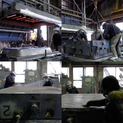 工場レポート「04.鋳型の製作:...